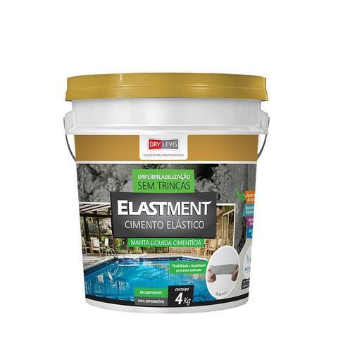 Imagem de Cimento elástico elastment cinza 4kg