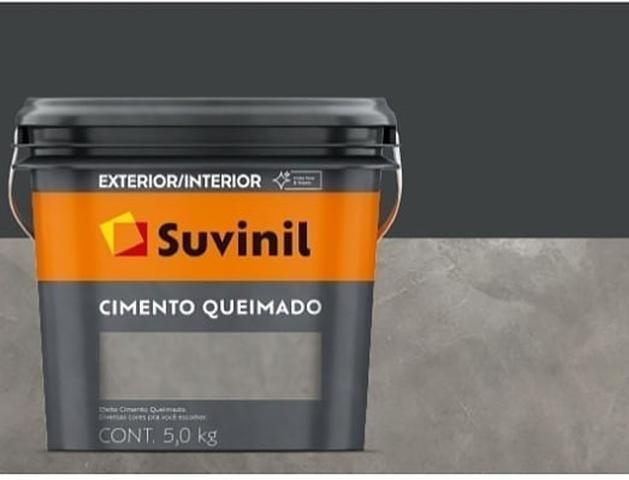 Imagem de Cimento Queimado Suvinil Túnel de Concreto - 5kg