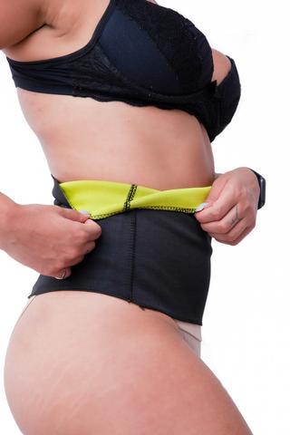 Imagem de Cinta Abdominal Modeladora Queima Gordura Emagrecedora Hot Termica
