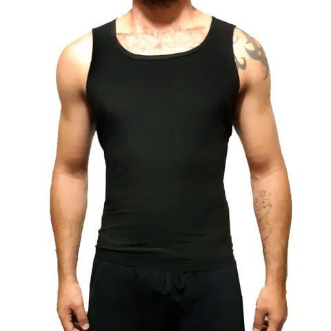 Imagem de Cinta Camiseta Emagrecedora Esquenta Efeito Sauna Nova