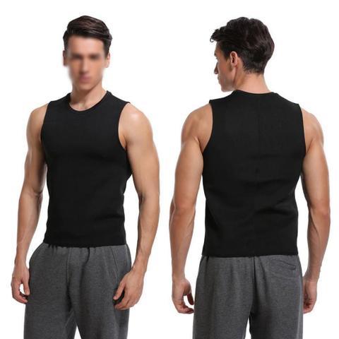 Imagem de Cinta Camiseta Modeladora Queima Gordura Masculino