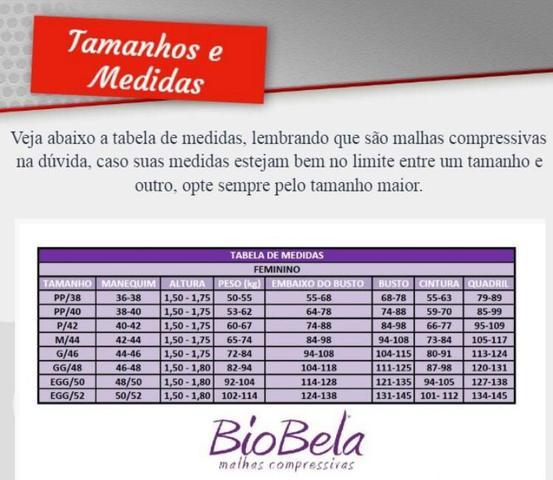Imagem de Cinta Macaquinho Modeladora Abdominoplastia Hidrolipo 1601 Biobela