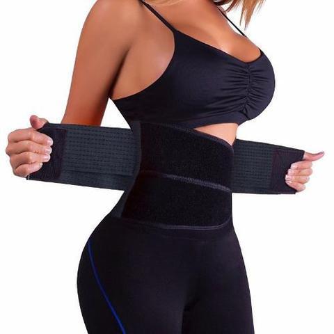 Imagem de Cinta Modeladora Abdominal Emagrecedora Hot Fitness Térmica Ajustável HB
