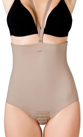 Imagem de Cinta modeladora afina abdominal compressão feminina  Dilady