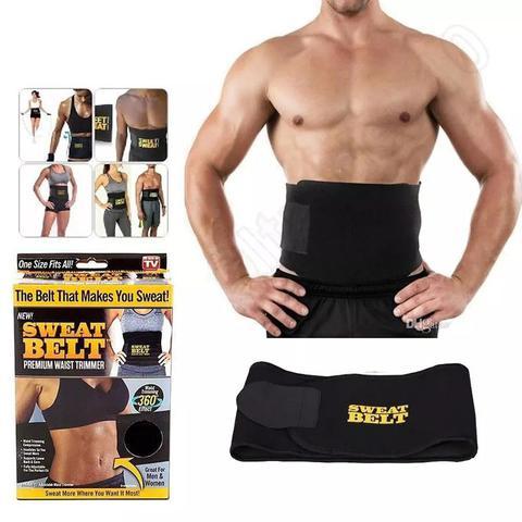 Imagem de Cinta Modeladora Afina Cintura Calor Corporal Belt Sweat