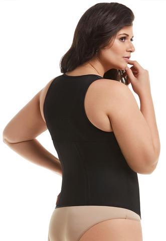 Imagem de Cinta Modeladora Blusa Espartilho com Barbatana Mondress