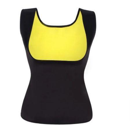 Imagem de Cinta Modeladora Camisa Regata Camiseta Regata Queima Gorduras Barriga Sauna