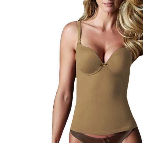 Imagem de Cinta modeladora camisete bojo copa C compressão feminina Vi Lingerie