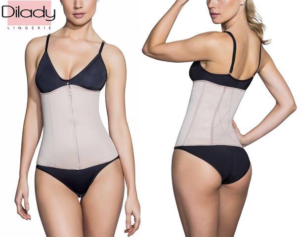 Imagem de Cinta Modeladora Dilady Fitness Zero Barriga Cinturete Promo