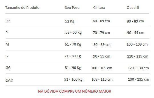 Imagem de Cinta Modeladora Pós Cirúrgica Completa com Reforço no Culote 60402 Chocolate