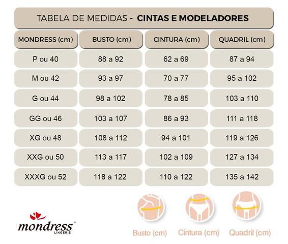 Imagem de Cinta Modeladora Pós-Parto Zíper e Abertura Mondress
