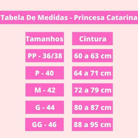 Imagem de Cinta Modeladora Princesa Catarina Fecho Frontal Alça R. 033