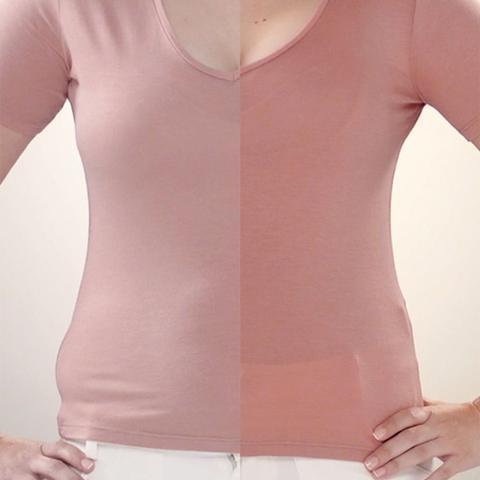 Imagem de Cinta Modeladora Térmica Shape Now T-Shirt be emotion - Feminino - Nude
