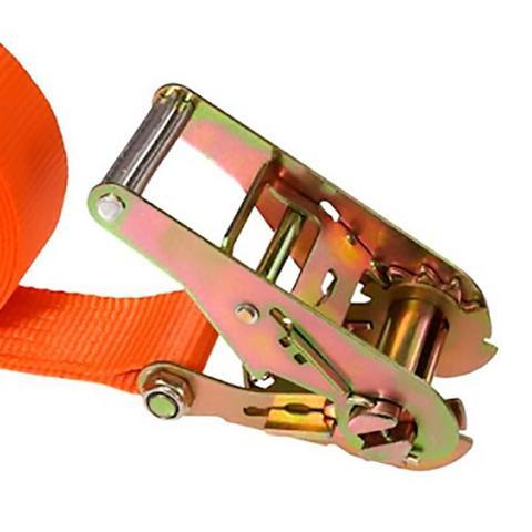 Imagem de Cinta para Prender Carga com Catraca 1 Pol x 4,5 Metros STARFER