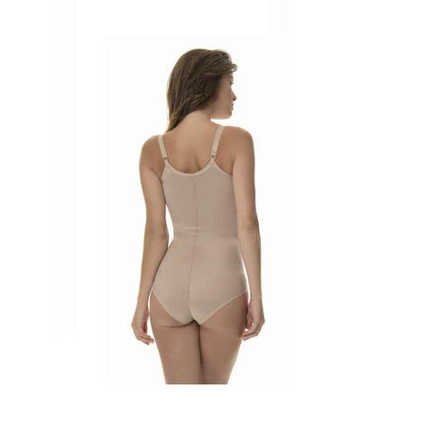 Imagem de Cinta Pós Cirúrgica e Modeladora New Form C/ Colchetes Frontais e Sutiã com Alças - Cód 0060602