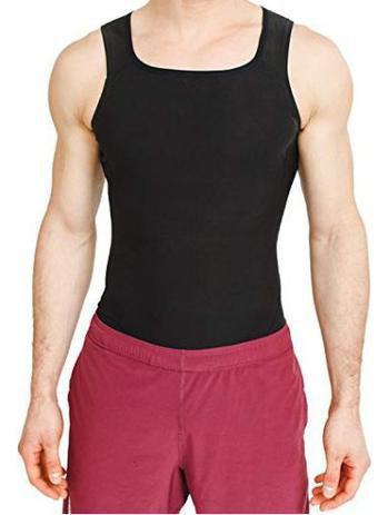 Imagem de Cinta Regata Queima Gorduras Barriga Camiseta Sauna - Masculina
