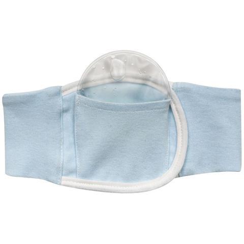 Imagem de Cinta Térmica Cólica Bebe Azul/Rosa Com Bolsa Gel Baby Buba