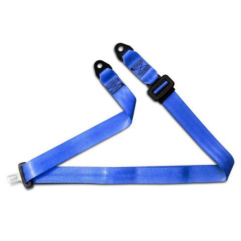Imagem de Cinto de Segurança 3 Pontos Dianteiro Traseiro Universal Azul Estático Macho