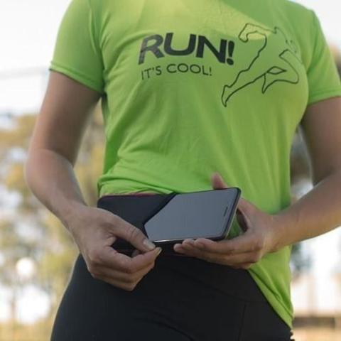 Imagem de Cinto Para Corrida Ciacool Coolbelt Fitness P/ Celular Gel