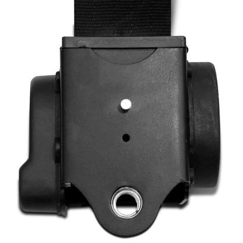 Imagem de Cinto Segurança 3 Pontos Traseiro Retrátil Gol Quadrado G1 80 a 95 Palio G1 96 a 00 2 Portas Preto