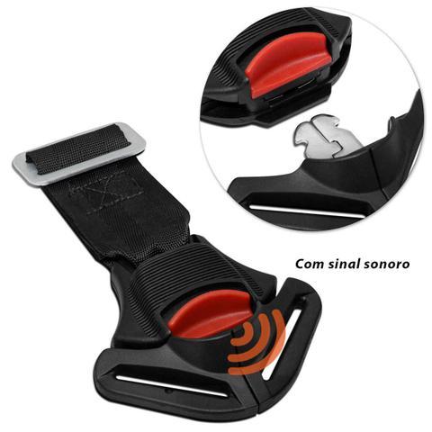 Imagem de Cinto Segurança Para Cadeirinha Infantil Ajustável Universal Preto G1 9 à 18kg e G2 15 à 25kg