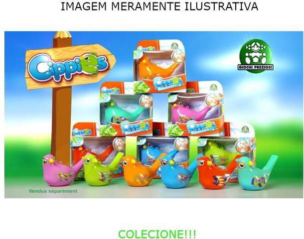 Imagem de CIPPIES AVES CANTORAS laranja DTC 4333