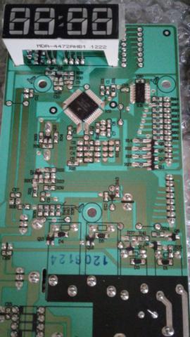 Imagem de CJ PLACA INTERF/CONTROLE 220V - MEC52 - 261400122750 - Electrolux
