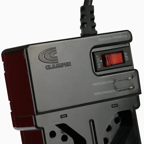 Imagem de CLAMPER Multiproteção 8 Preto