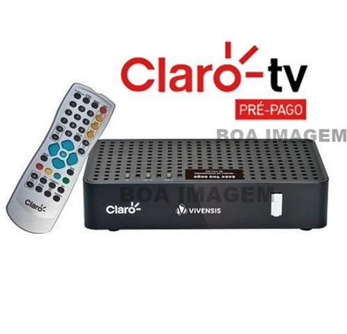 Imagem de Claro Tv Pré-Pago SD Mercantil 2 Receptores Digital + Antena 60 cm