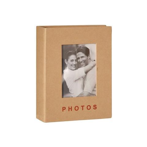 Imagem de Classic Álbum 100 fotos 13x18 Capa Dura Janela Personalizável