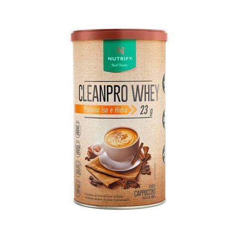 Imagem de Cleanpro whey 450g - cappuccino - Nutrify