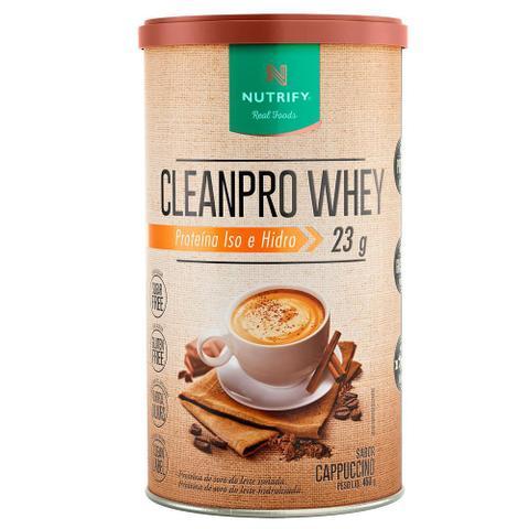 Imagem de Cleanpro Whey Cappuccino 450g Nutrify