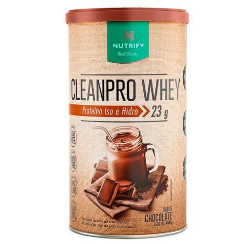 Imagem de Cleanpro Whey Chocolate 450g Nutrify