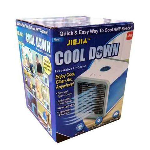 Imagem de Climatizador Ar Ventilador Luminaria Agua Cool Cooler Gelado (BSL-VEN-3)