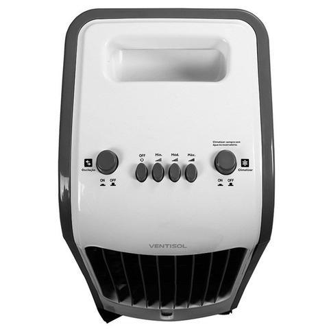 Imagem de Climatizador de Ar Frio Portatil Com Gel para Resfriamento 3 Velocidades - Ventisol