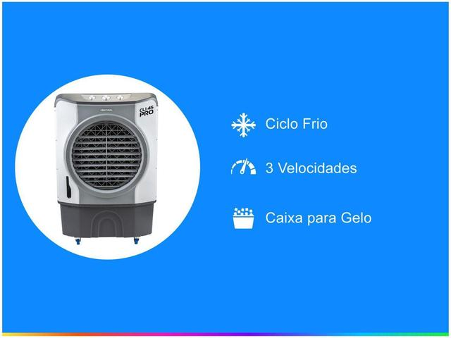 Imagem de Climatizador de Ar Ventisol Frio - 3 Velocidades Nobille CLI 45 PRO