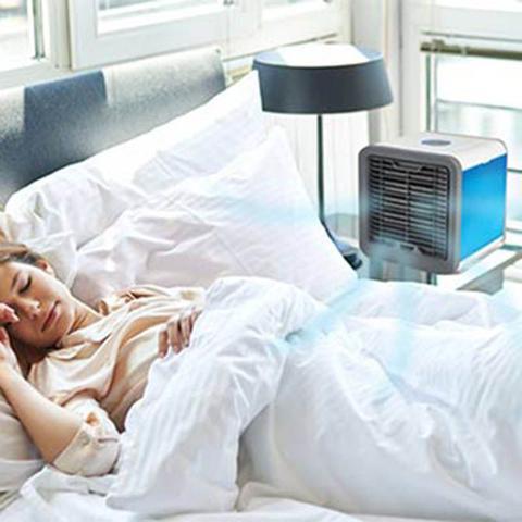 Imagem de Climatizador Ventilador Ar Agua Cool Cooler Gelado Luminaria (BSL-VEN-3)