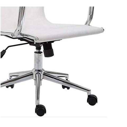 Imagem de  Clique para visualizar Cadeira de Escritório Presidente Giratória Eames Star Branca