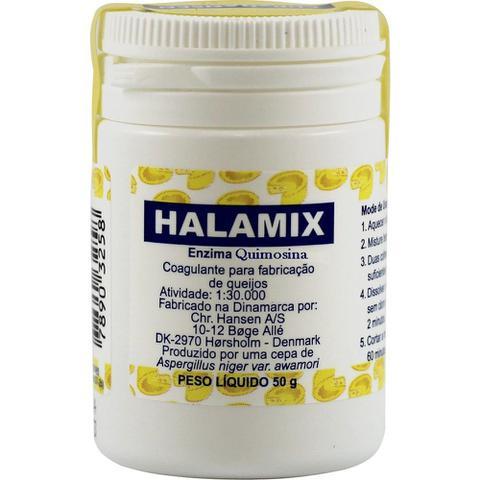 Imagem de Coalho Halamix Em Pó 50g Para Fabricação De Queijo