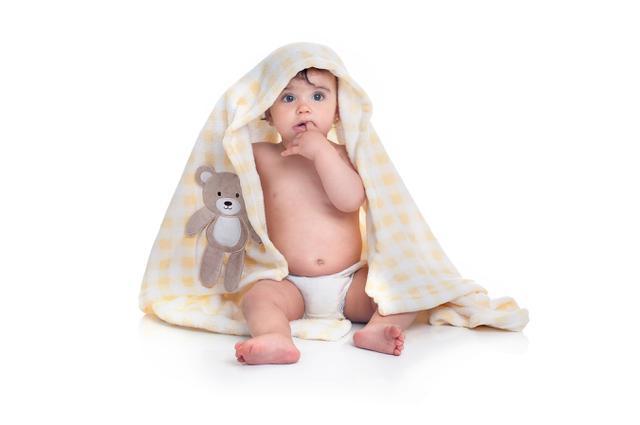Imagem de Cobertor bebê amarelo xadrez ursinho