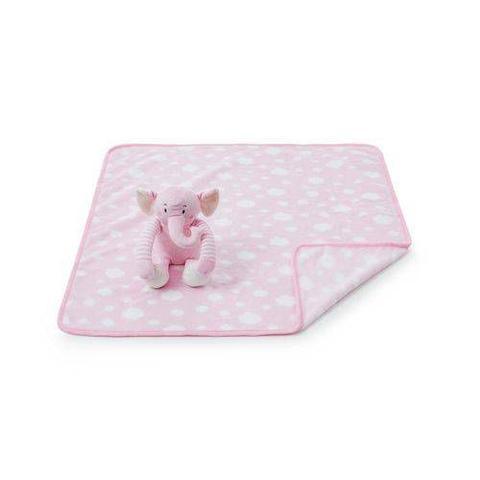 Imagem de Cobertor E Bichinho De Pelúcia- Elefantinha Rosa