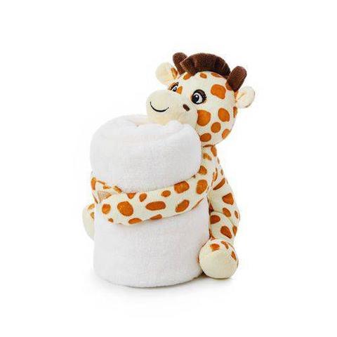 Imagem de Cobertor E Bichinho De Pelúcia- Girafinha