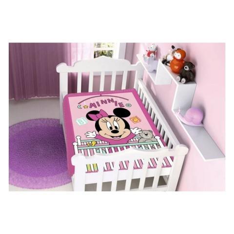 Imagem de Cobertor Infantil 1 Unidade Raschel Disney Baby Minnie - Jolitex