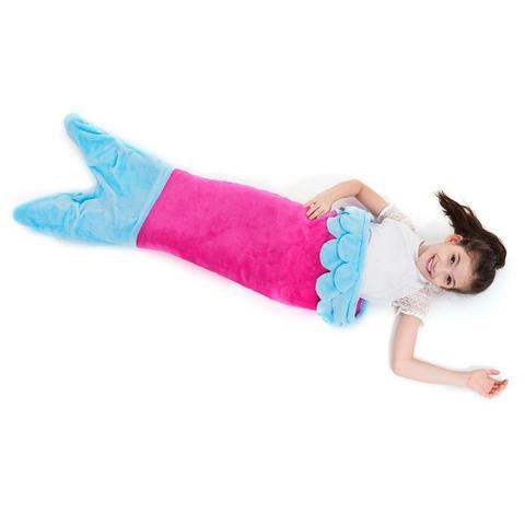 Imagem de Cobertor Infantil Cauda de Sereia
