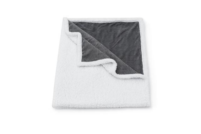 Imagem de Cobertor Manta Microfibra E Sherpa Aconchegante Dupla Face