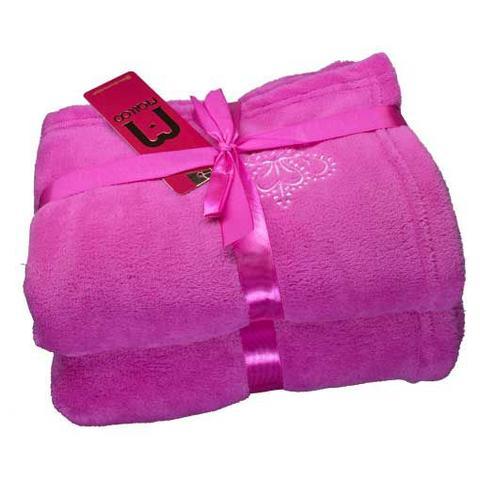 Imagem de Cobertor para Cachorro e Gato de Microfibra Malloo Pink