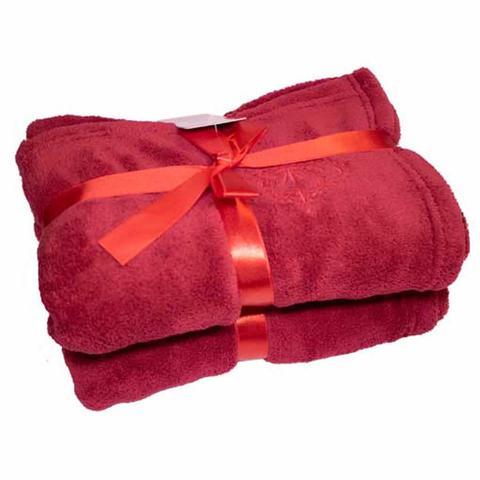 Imagem de Cobertor para Cachorro e Gato de Microfibra Malloo Vermelho