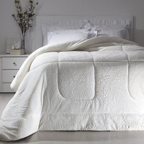 Imagem de Cobertor Queen Branco Extra Macio Duoblanket Kacyumara