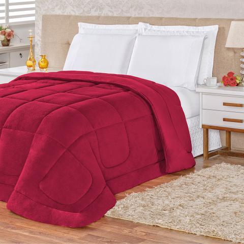 Imagem de Cobertor Queen Felpudo com Malha Penteada 100% Algodão