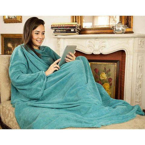 Imagem de Cobertor Tv com Mangas 1,60x2,30m Laoni